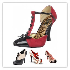 Zapatos Pin Up