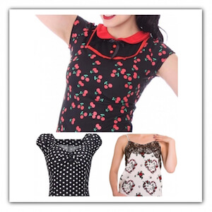 Camisetas Pin Up