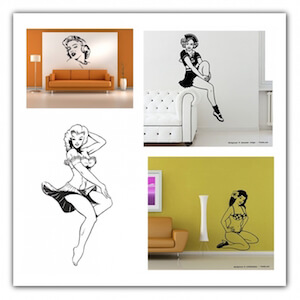 Vinilos Pin Up